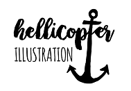 Hellicopter Illustration